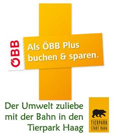 ÖBB Plus und Tierpark Haag