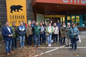 Team Cumberland Tierpark Grünau zu Besuch