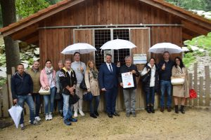 Firmenpatenschaft für Mufflon und Rothirsch
