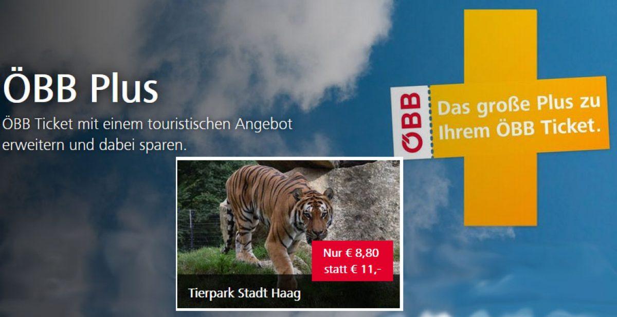 Mit ÖBB Plus in den Tierpark Haag